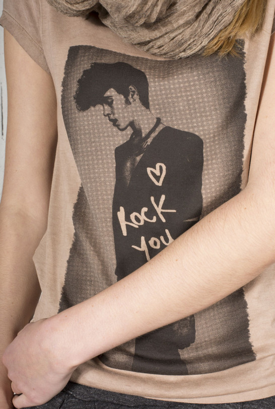 Drolatic Tee-shirt manche courte Rock You